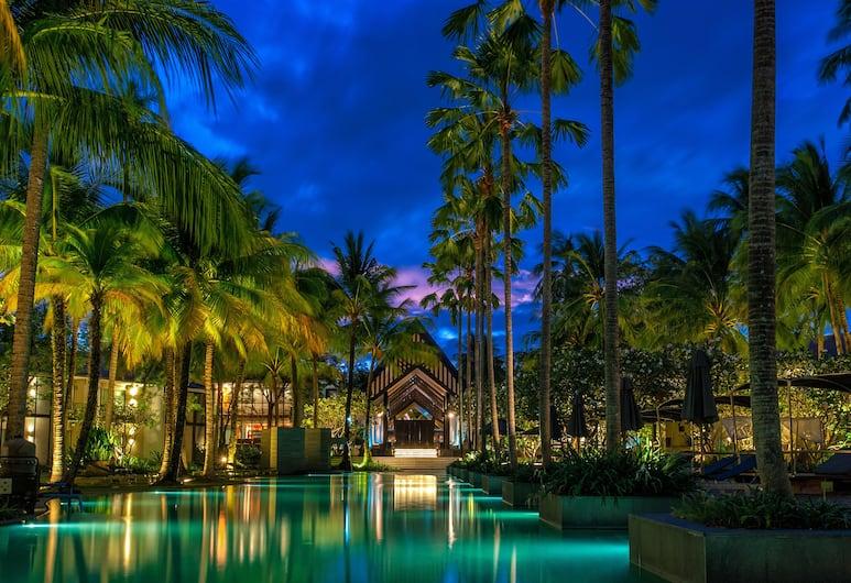 布吉雙棕櫚樹酒店, Choeng Thale, 泳池