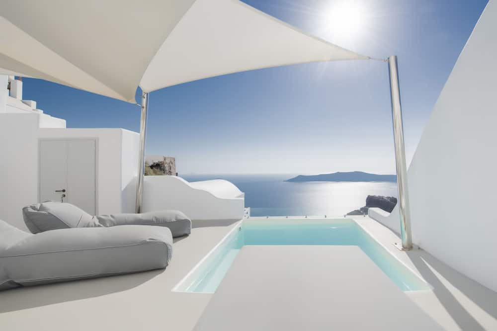 Suite Premium, 2 habitaciones, bañera de hidromasaje, vista al mar - Habitación