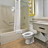 Deluxe Room, 1 King Bed, Non Smoking, Refrigerator & Microwave - Bathroom