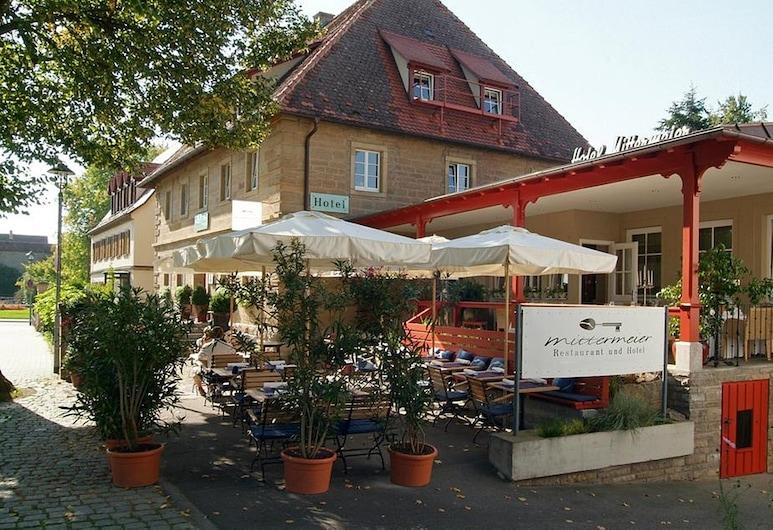 Villa Mittermeier Hotel & Restaurant, Rothenburg ob der Tauber, מרפסת/פטיו