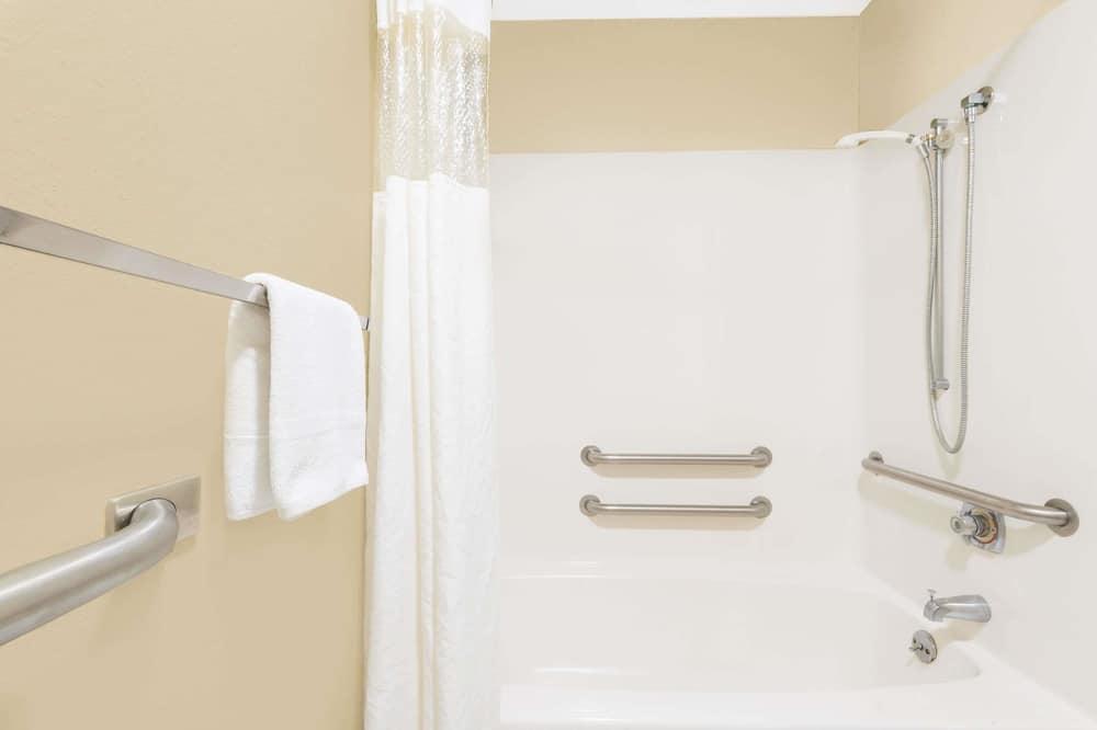 標準客房, 1 張加大雙人床, 無障礙 - 浴室