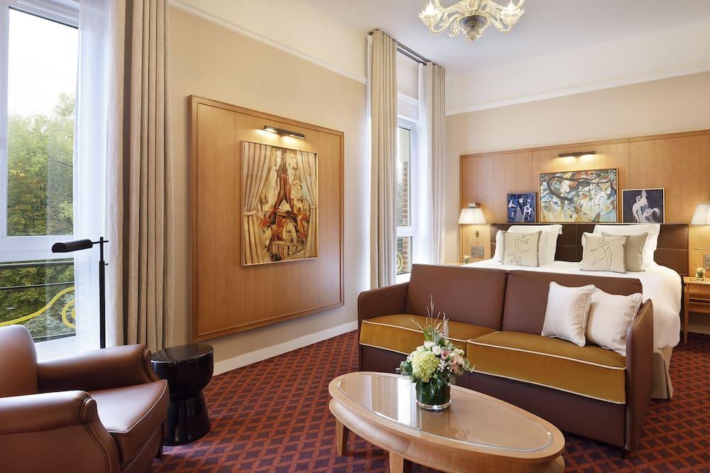 Phòng đôi (Prestige) - Khu phòng khách