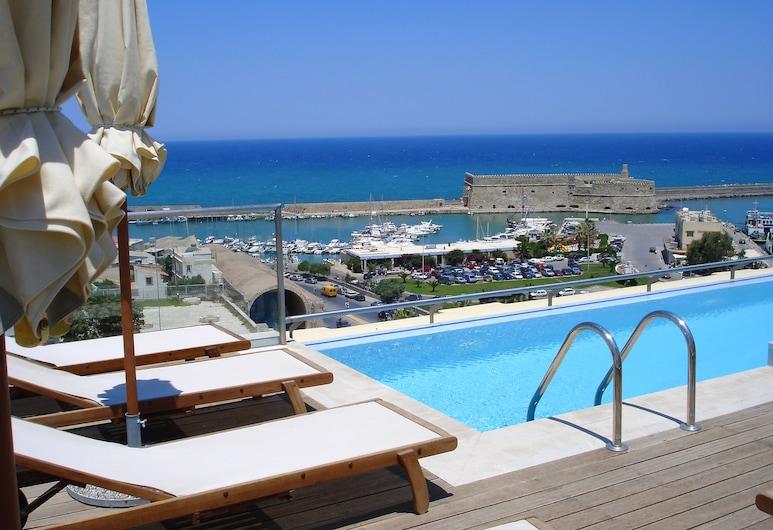 GDM Megaron Historical Monument Hotel, Ηράκλειο, Εξωτερική πισίνα