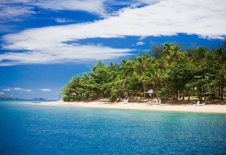 Malolo Island Resort, Malolo, Blick vom Hotel