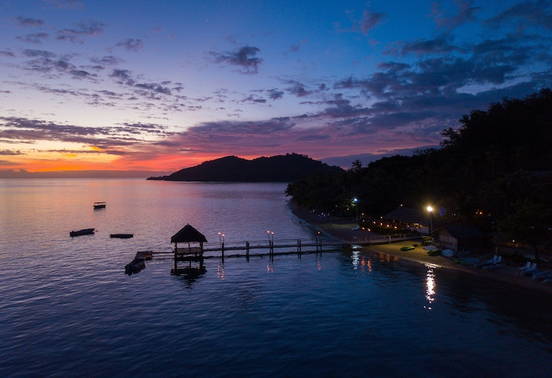 Malolo Island Resort, האי מלולו, מראה מהאוויר