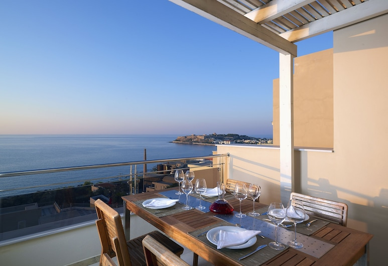 Macaris Suites and SPA, Rethymno, Svit Executive - 1 sovrum, Terrass