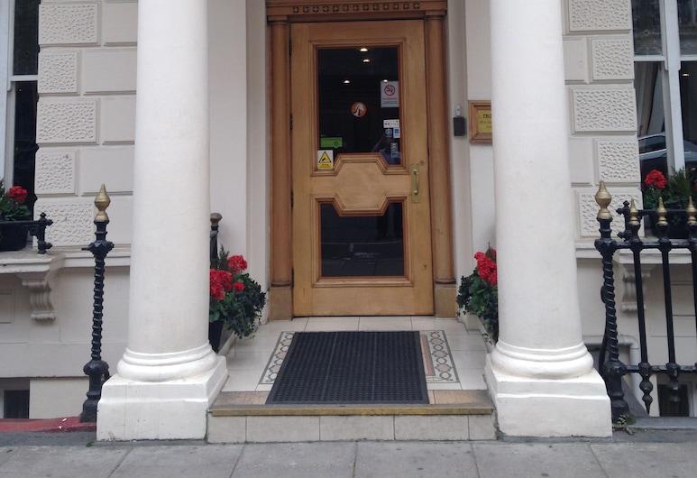 Troy, London, Hotel Entrance