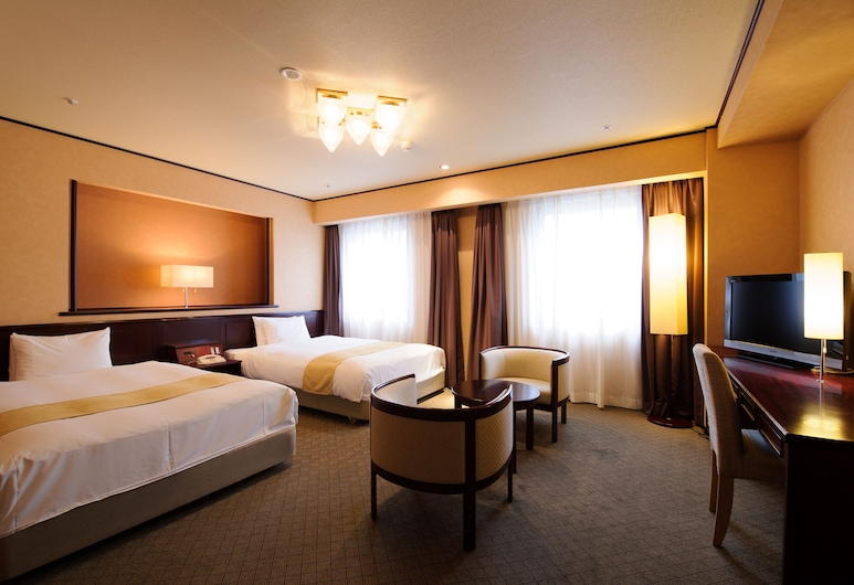 Chisun Hotel Utsunomiya, Utsunomiya, Deluxe Twin Room, Smoking (Premium), Guest Room