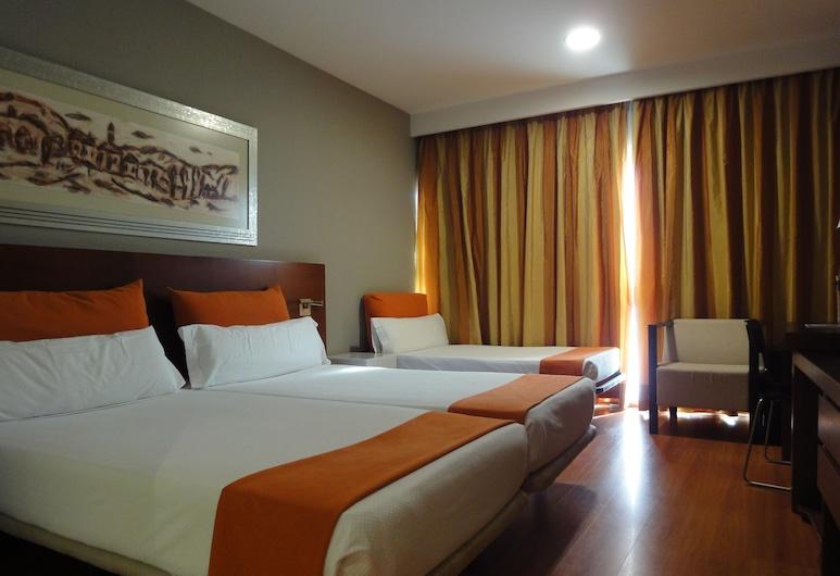 Eurohotel Barcelona Gran Via Fira, L'Hospitalet de Llobregat, Double or Twin Room (+ Extra Bed), Guest Room