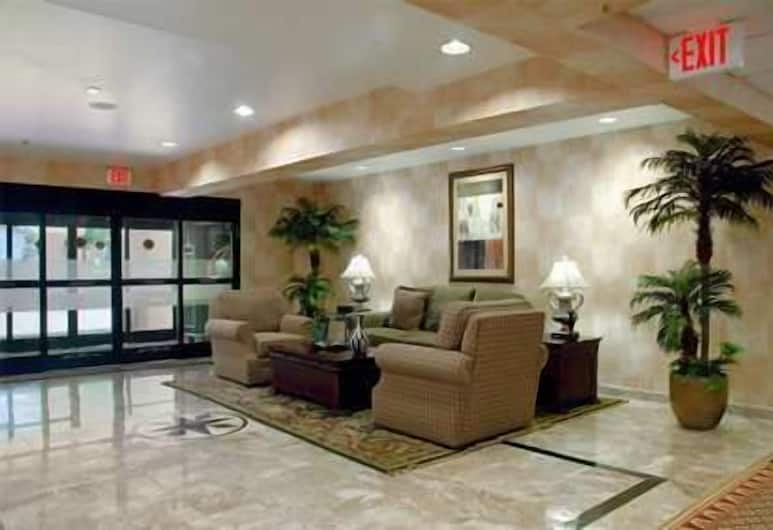 Hampton Inn & Suites Wilson I-95, Wilson, Salón en el lobby