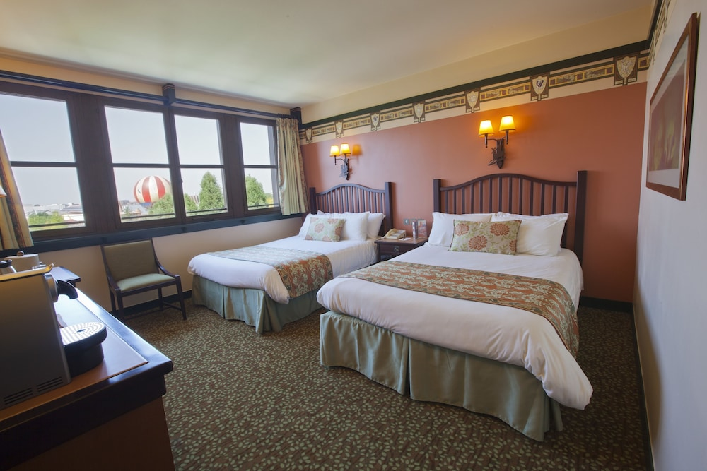 Disney 39 s sequoia lodge coupvray for Chambre de hotel france