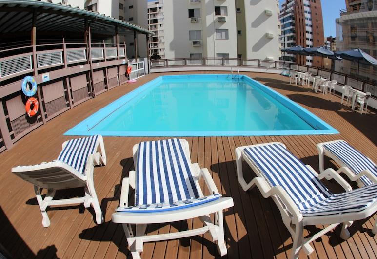 Castelmar Hotel, Florianópolis, Terrasse/Patio