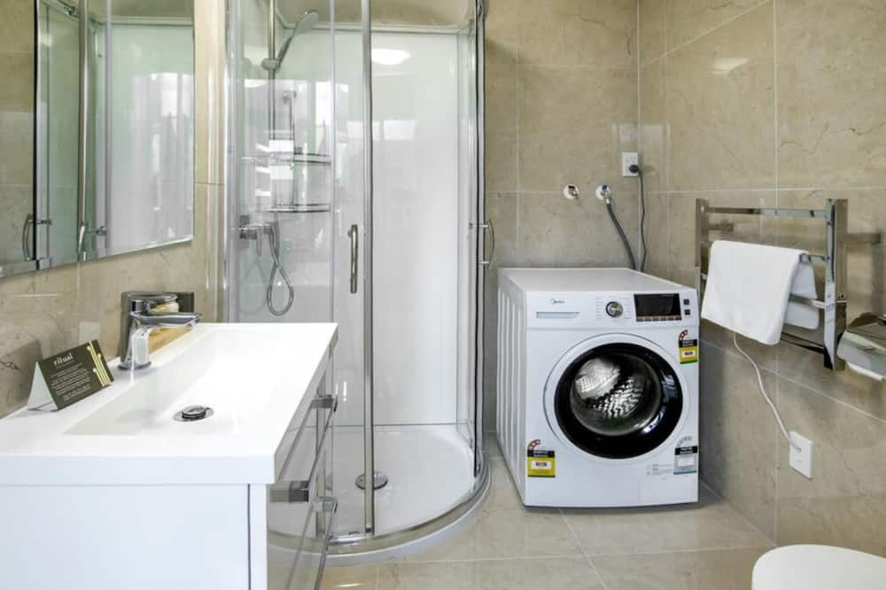 Deluxe-Apartment, 1 Schlafzimmer - Badezimmer
