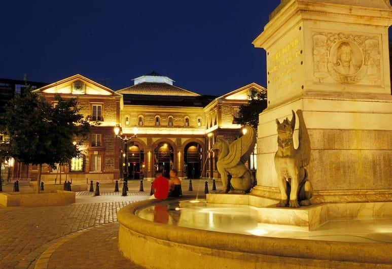 At Home Appart'Hotel, Toulouse, Viešbučio teritorija