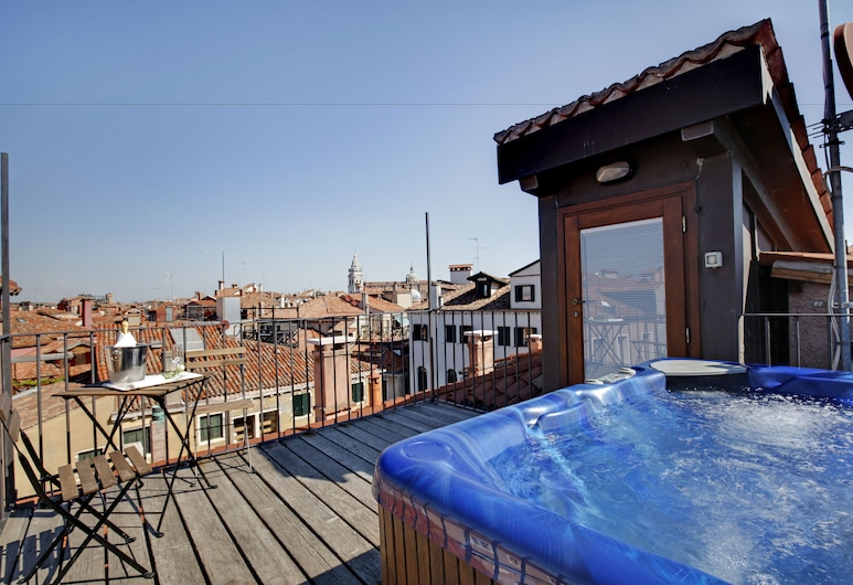 Hotel Dona Palace, Veneza, Suíte executiva, Vista (do quarto)
