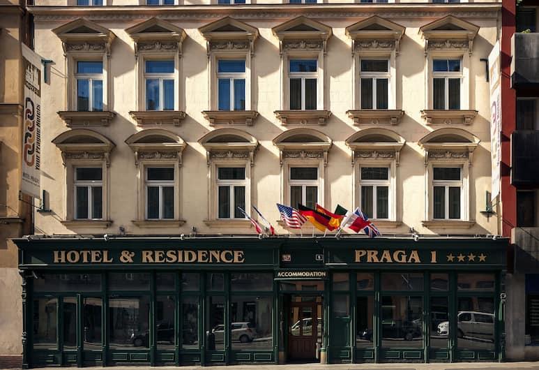 Hotel Praga 1, Prag, Hotellets facade