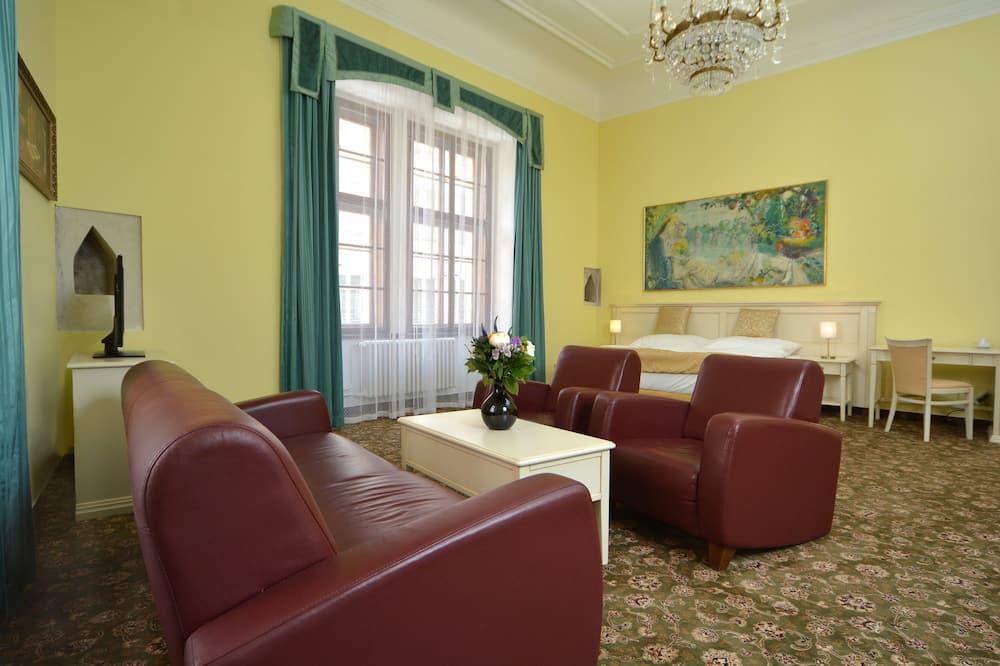Suíte luxo, 2 quartos - Área de estar