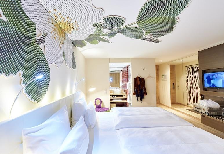 Hotel Schwanen Metzingen, Mecingene, Divvietīgs numurs, 1 divguļamā gulta (Garden), Viesu numurs
