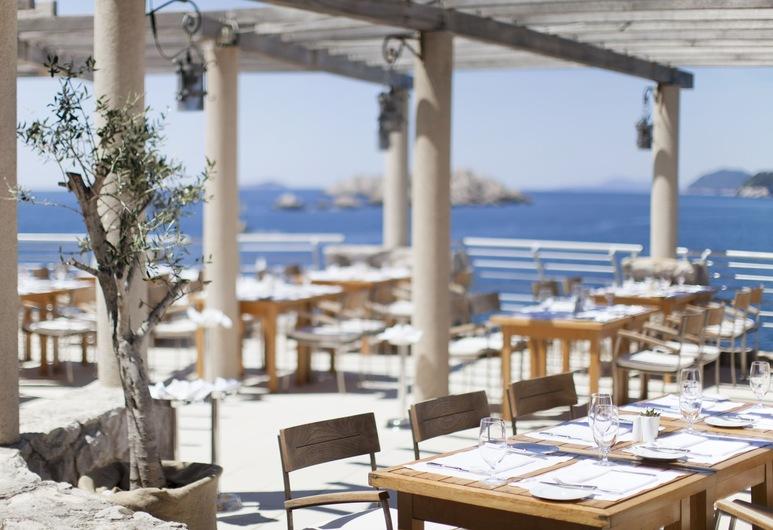Dubrovnik Palace, Ντουμπρόβνικ, Γεύματα σε εξωτερικό χώρο