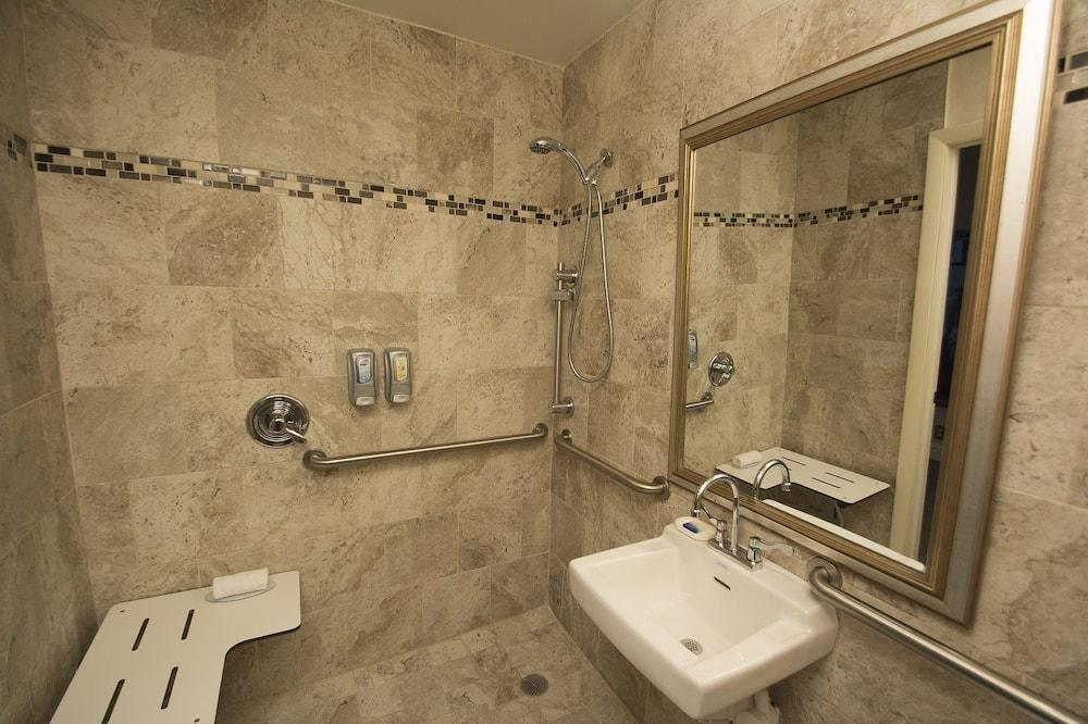 客房, 1 張加大雙人床, 無障礙 - 浴室