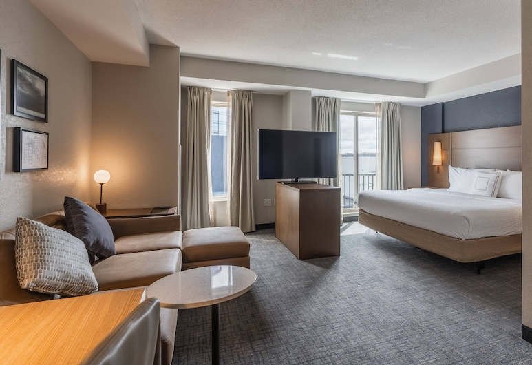 Residence Inn by Marriott Halifax Downtown, Halifax, Estudio, 1 cama Queen size, para no fumadores, Habitación
