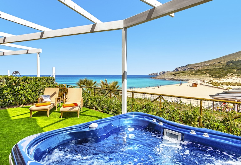 VIVA Cala Mesquida Resort & Spa, Capdepera, Premium Deluxe Apartment, 1 Bedroom, Ground floor Terrace with Garden, Terrace/Patio
