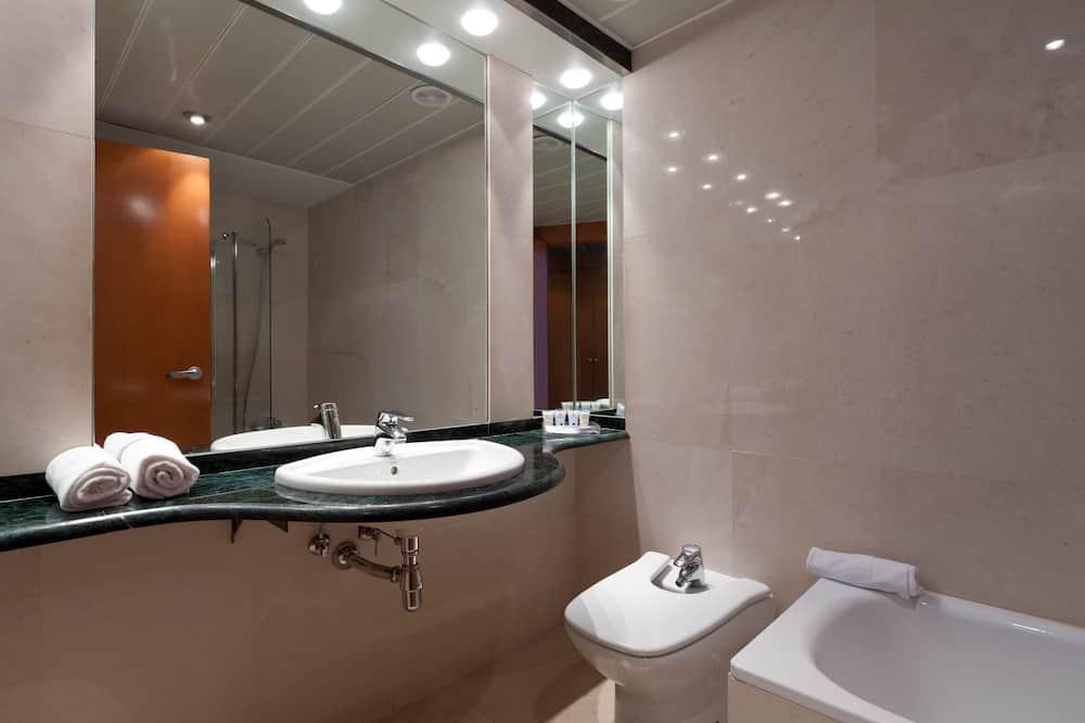 חדר סטנדרט זוגי - חדר רחצה