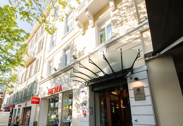 Best Western Alba Hotel, Nice, Hotellfasad