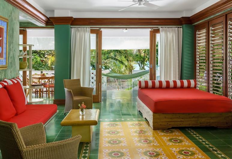 Idle Awhile Resort, Negril, Suite, 1 Bedroom, Ocean View, Living Room