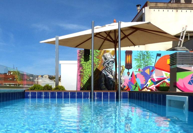 Sercotel Amister Art Hotel, Barcelona, Piscina externa