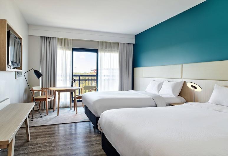 雪梨北萊德萬怡飯店, 麥格理公園, 客房, 2 張標準雙人床, 陽台, 客房
