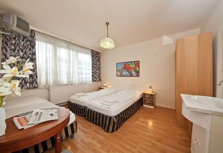 Hotel Wikinger Hof Hamburg, המבורג, חדר זוגי ליחיד, חדר אורחים