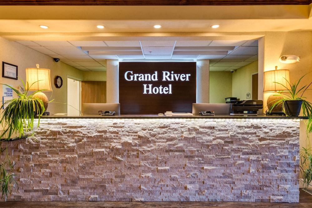 Grand River Hotel Parachute Reception