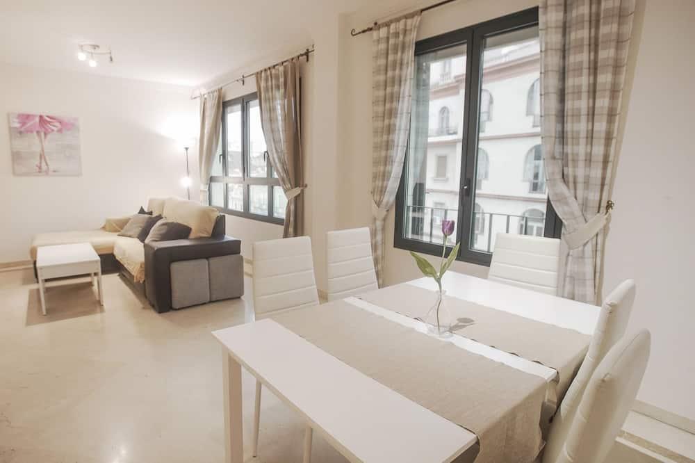Apartamentos cercanos para 4 personas - Living Room