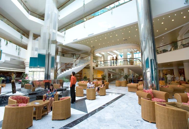 Hotel Gran Turquesa Playa, Puerto de la Cruz, Siddeområde i lobby
