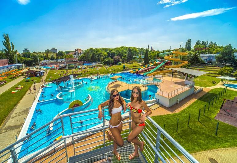 Hunguest Hotel Forrás, Szeged, Su Parkı