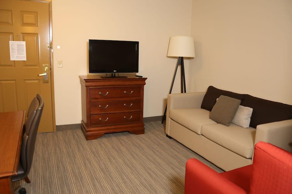 Номер-люкс, 1 ліжко «кінг-сайз», для некурців - Вітальня