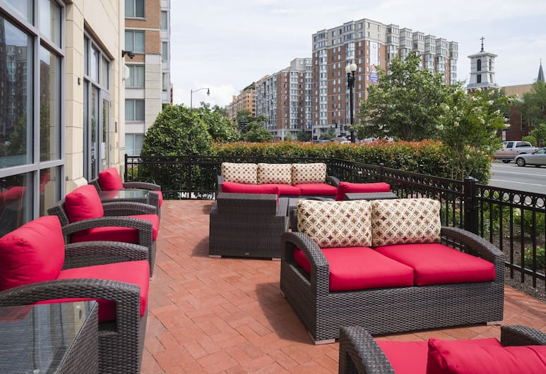 Hampton Inn Washington-Downtown-Convention Center, DC, Washington, Terrace/Patio