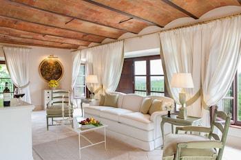 Castelnuovo Berardenga bölgesindeki Dievole Wine Resort resmi