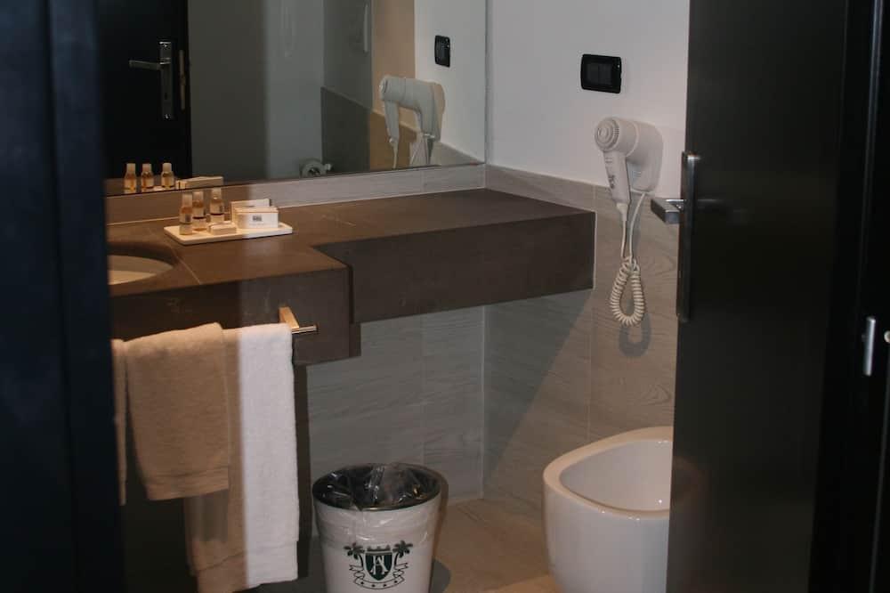 dizainas, vienvietis - Vonios kambarys
