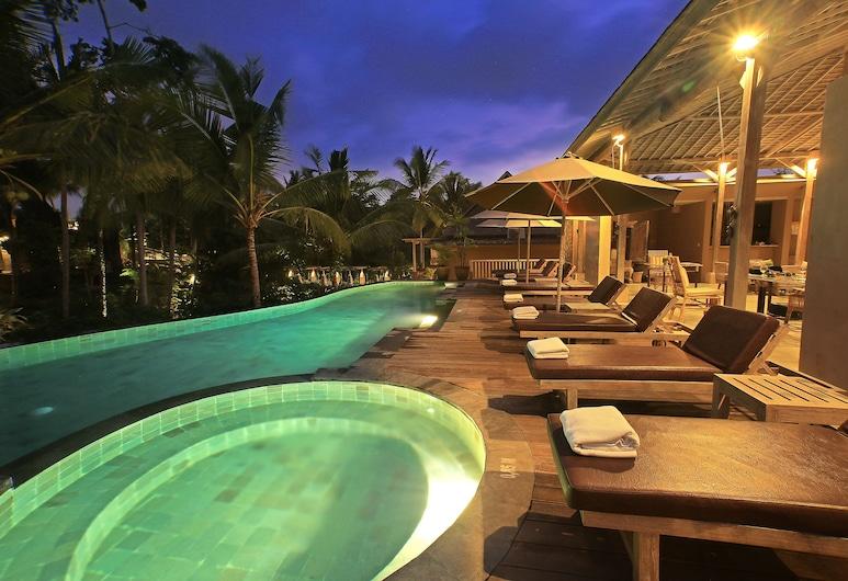 瓦帕迪尤美烏布德飯店, 烏布, 無邊際泳池