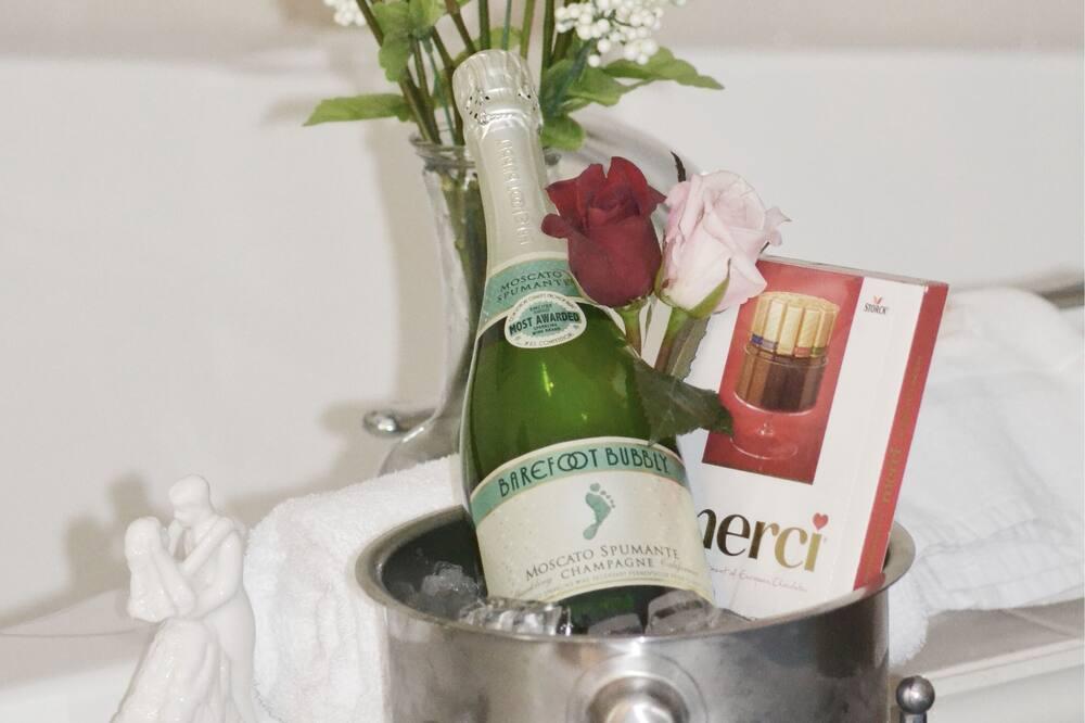 Номер «Делюкс», 1 ліжко «квін-сайз», ванна з гідромасажем - Номер