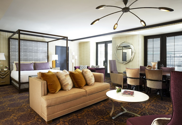 Solamar San Diego, San Diego, Suite (Luna), Sala de estar