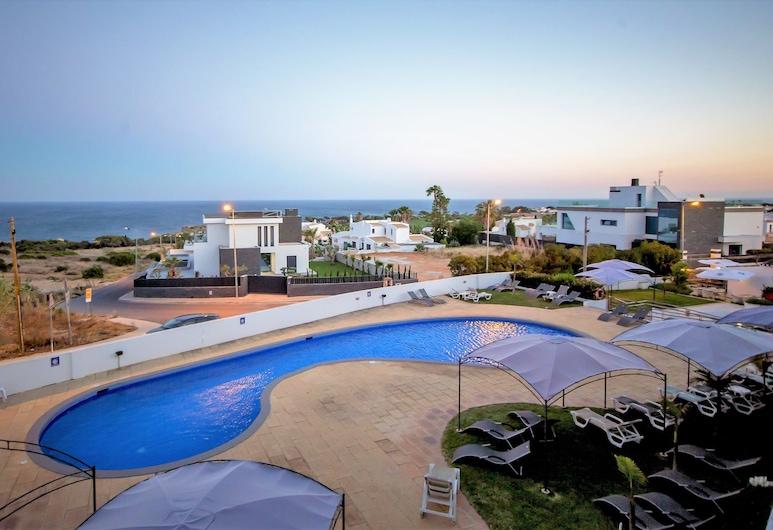 Hotel Maritur - Adults Only, Albufeira, Rom – family, utsikt mot sjø, Utsikt mot strand/hav