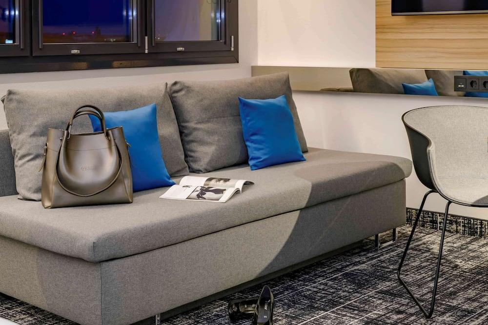 Suite, Mehrere Betten - Wohnbereich