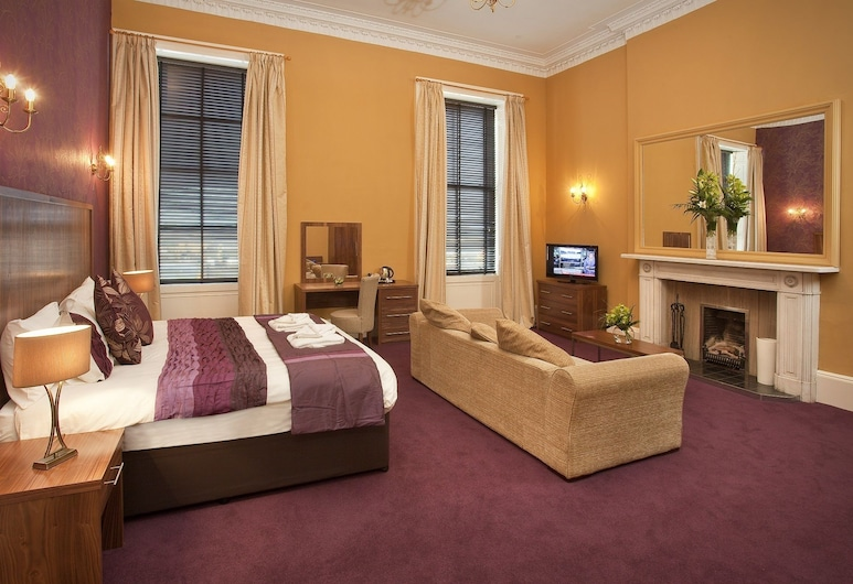 Ballantrae Hotel, Edinburgh, Executive Double Room, 1 Double Bed, Guest Room