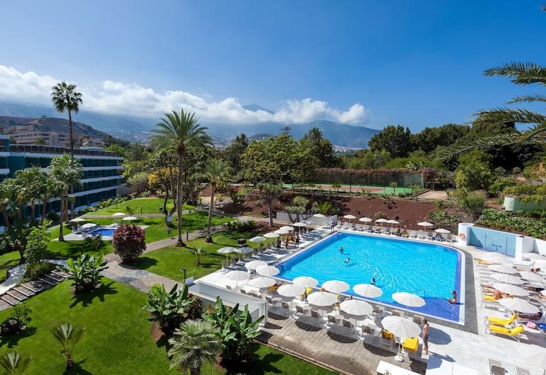 Hotel TRH Taoro Garden - Only Adults Recommended, Puerto la Kruzas, Lauko baseinas