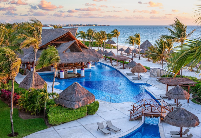 Excellence Riviera Cancun - Adults Only - All Inclusive, Puerto Morelos, Udendørs pool