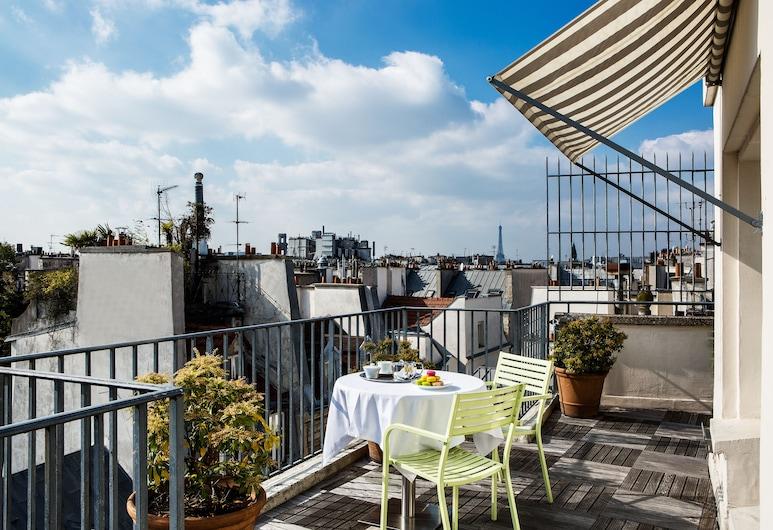 Hôtel Parc Saint Séverin, Paris, Rom – panoramic, terrasse, Terrasse/veranda
