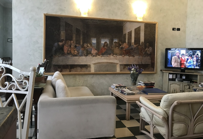 Hotel Giglio, Florence, Lobby Sitting Area